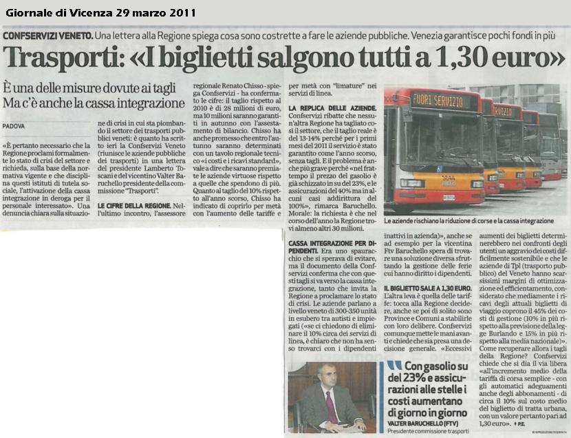 "Confservizi e Anav a Chisso: ""Servono altri 30 milioni"""
