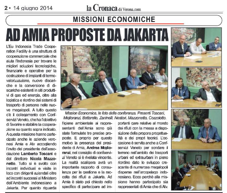 conferenza stampa Jacarta