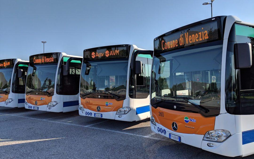 Gruppo AVM: acquisto di 60 autobus per il ridurre le emissioni in atmosfera