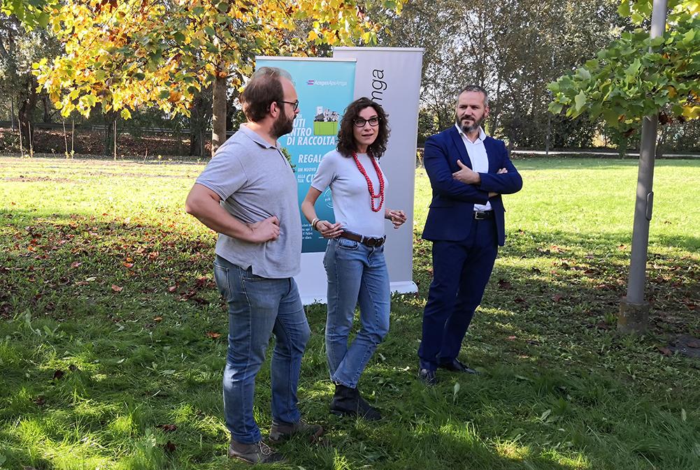 """""""Operazione Più Alberi"""" di AcegasApsAmga: inaugurato il bosco urbano di Mortise con 450 nuovi alberi"""