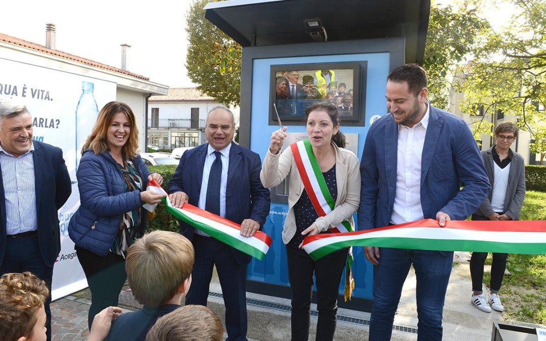 """Inaugurata una nuova """"Sorgente Urbana"""" a Sant'Angelo di Piove di Sacco"""