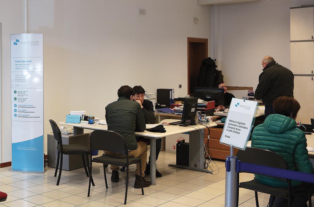 Apertura regolare degli sportelli di Acquevenete nella giornata di giovedì 24 ottobre