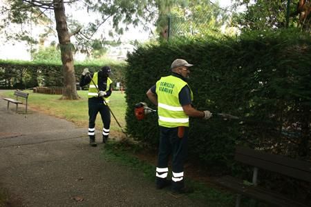 Continua a pieno ritmo la manutenzione del verde pubblico di Amia Verona