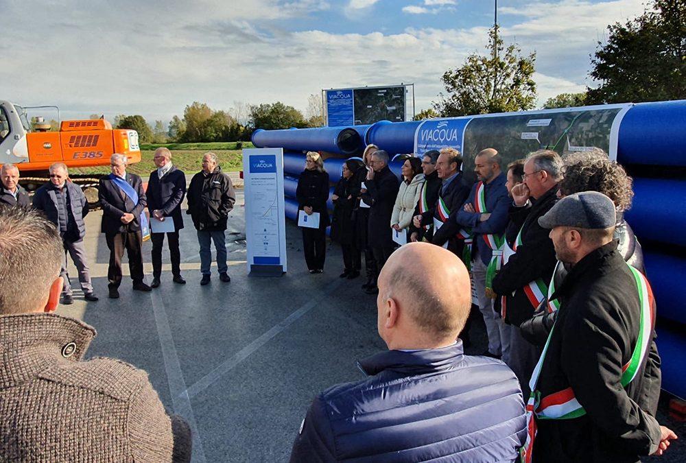 7 km di condotte e 4 milioni di euro contro i PFAS per fornire acqua buona all'area Berica