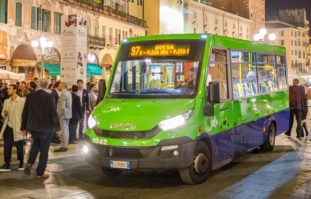 Le modifiche delle linee degli autobus in occasione dei Mercatini di Natale e della Verona Marathon