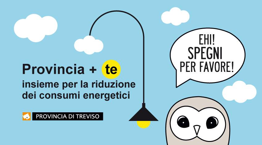 MOM ha aderito alla campagna per la riduzione dei consumi energetici nel territorio trevigiano