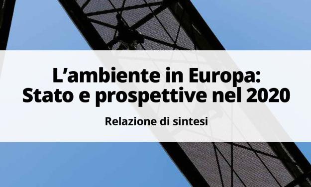 Nell'ultimo numero di Ambiente Informa le prospettive ambientali in Europa