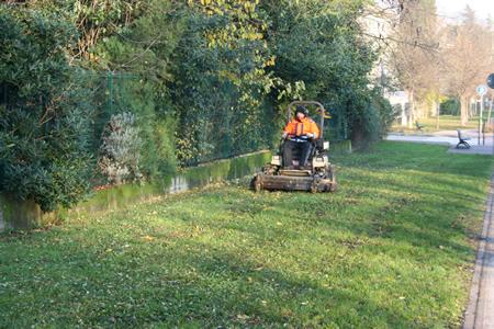 Amia Verona prosegue a pieno ritmo nella manutenzione del verde pubblico