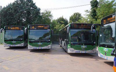 Con oltre 7 milioni di euro di investimenti quest'anno arrivano a MOM 28 nuovi autobus