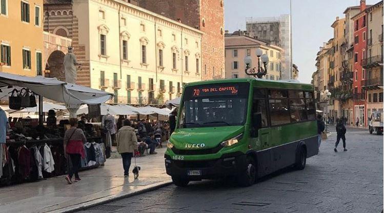 Da domani martedì 14 gennaio ATV Verona devia delle linee degli autobus 70, 96 e 97