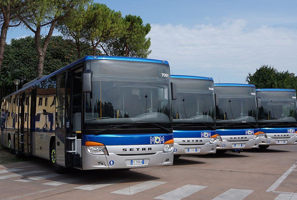 Alcune variazioni per i servizi di trasporto pubblico locale di Mobilità di Marca